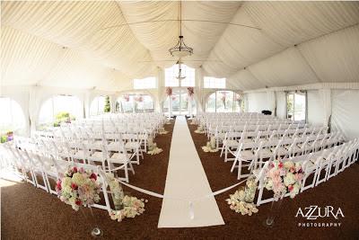 Flora Nova Design, blush pink wedding flowers, Newcastle Golf Club wedding, wedding ceremony decor