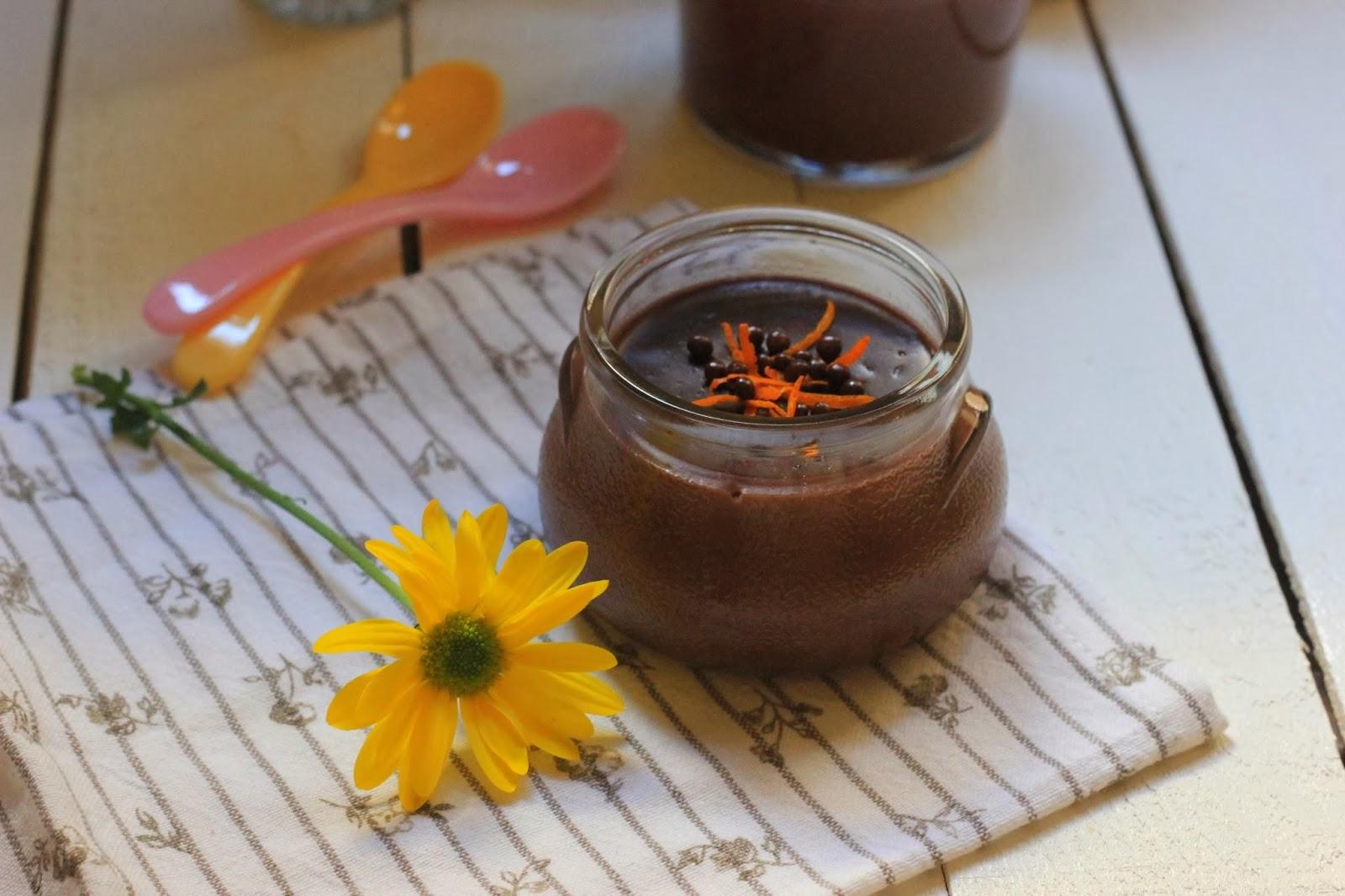 portakalli cikolatali puding 4