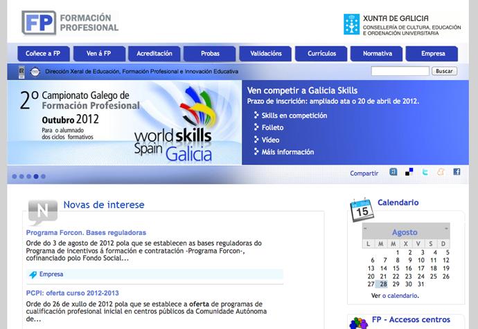 Portal FP Galicia