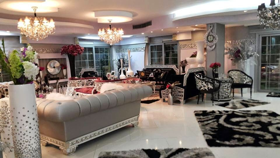 Collection of bewitching villa furniture interior designs