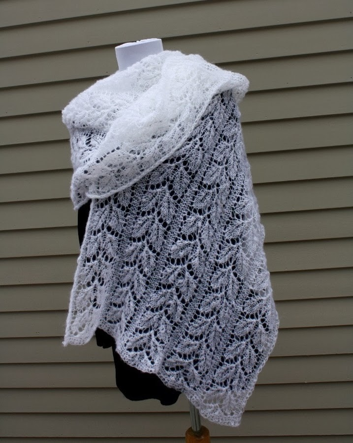 All Knitted Lace: February Entry: Estonian Shawl Challenge