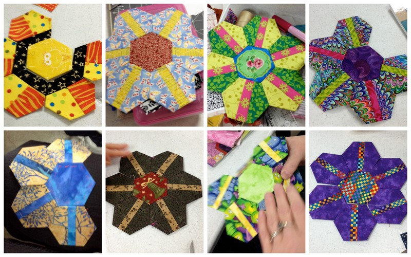 Blog+photos Pieced Hexies: Guest Post and Two Giveaways!