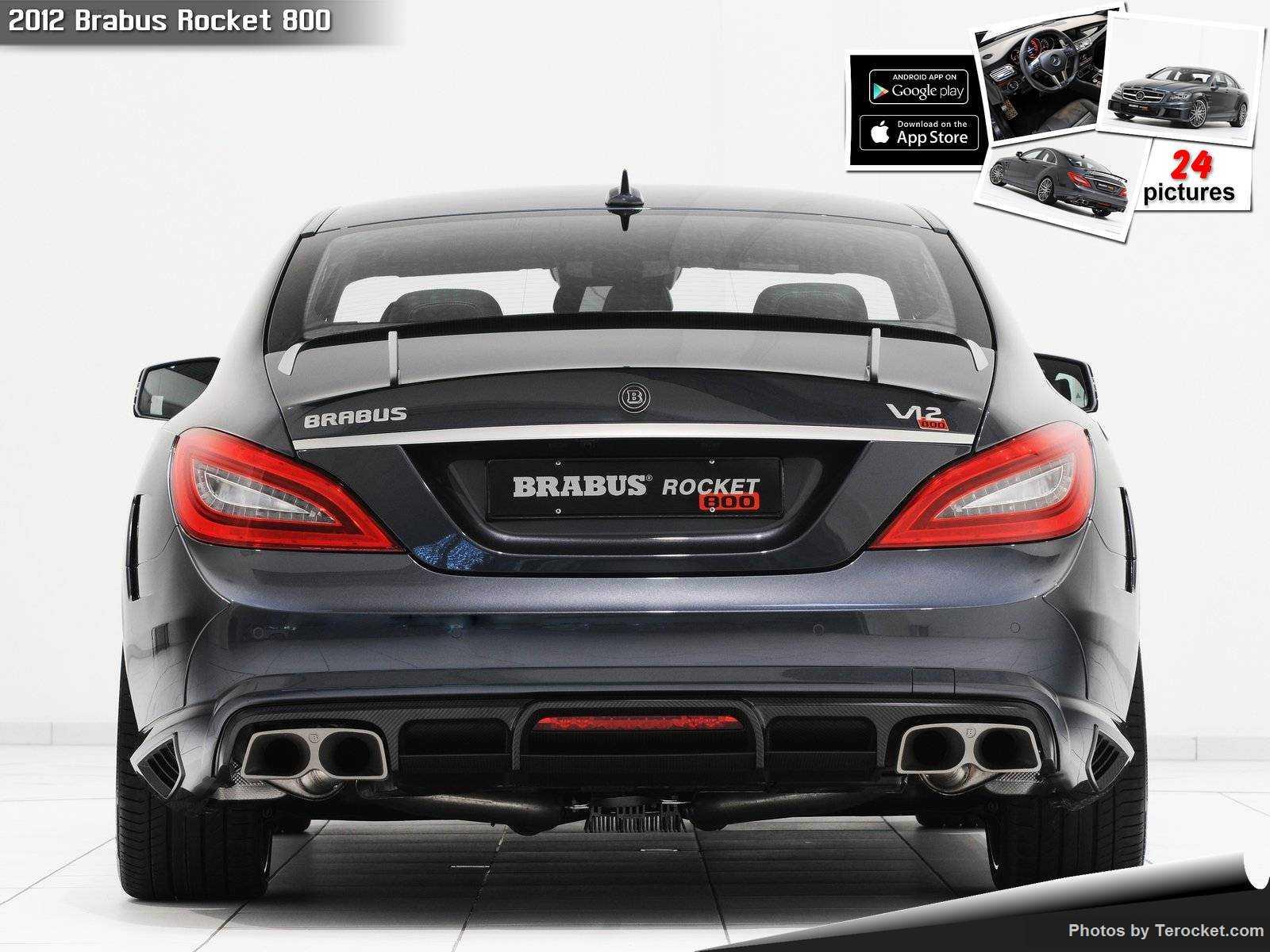 Hình ảnh xe ô tô Brabus Rocket 800 2012 & nội ngoại thất