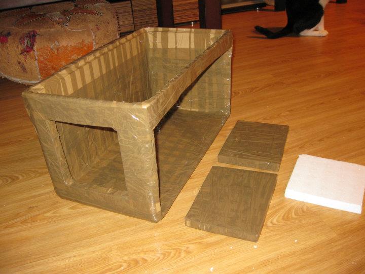 Fabrica un refugio para los pobres gatos de la calle - Casas para gatos baratas ...