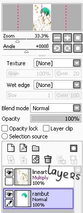 Paint Tool Sai Lock Toolbars