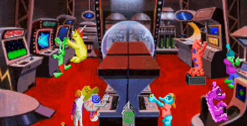 space quest iv mall arcade