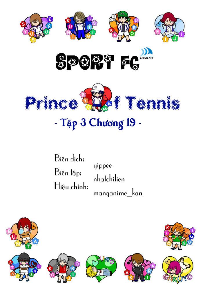 Prince of Tennis chap 19 Trang 1
