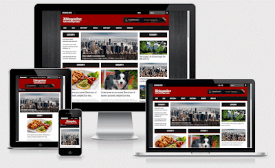 Download Free XMagazine Responsive Blogger Template
