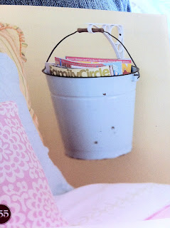 She 39 s crafty from bhg book 501 decorating ideas under 100 for How to decorate a bucket