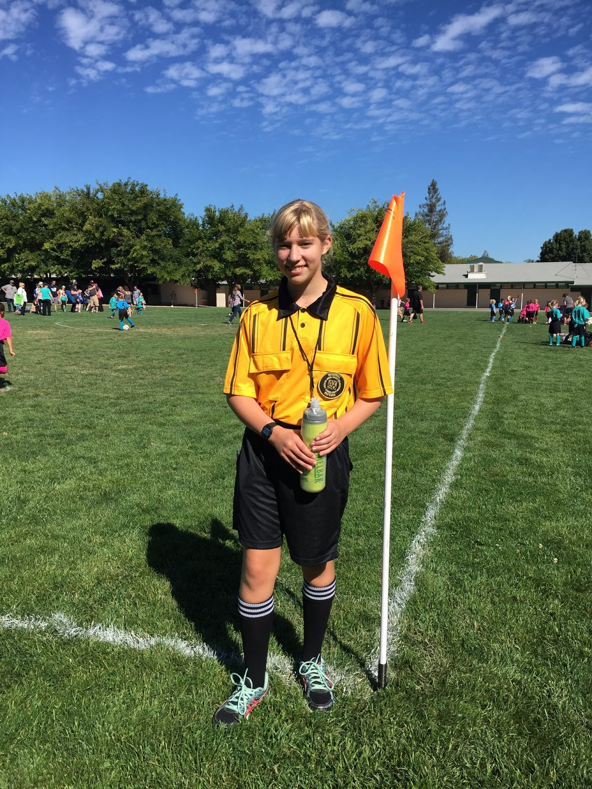 Keeps me smiling ayso youth referee my daughter volunteer as an ayso youth referee this soccer season in addition to her regular u14 team commitments she also took certification training xflitez Image collections