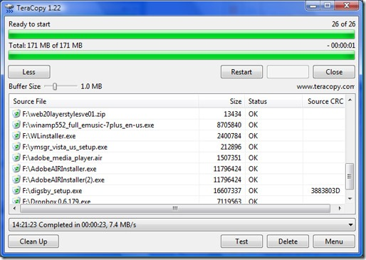 download latest teracopy pro full version