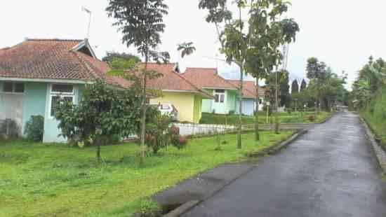 Hotel Tridaya berupa komplek perumahan