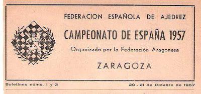Boletín del XVIII Campeonato de España de Ajedrez (4)