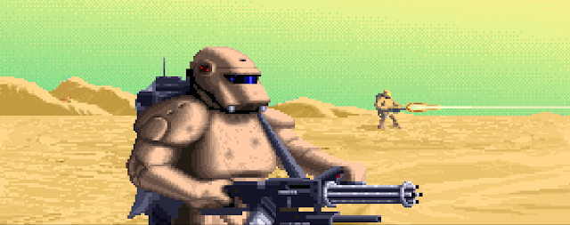 Screenshot of Dune II intro