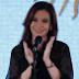 (Video) Cristina Fernández padece de un cáncer