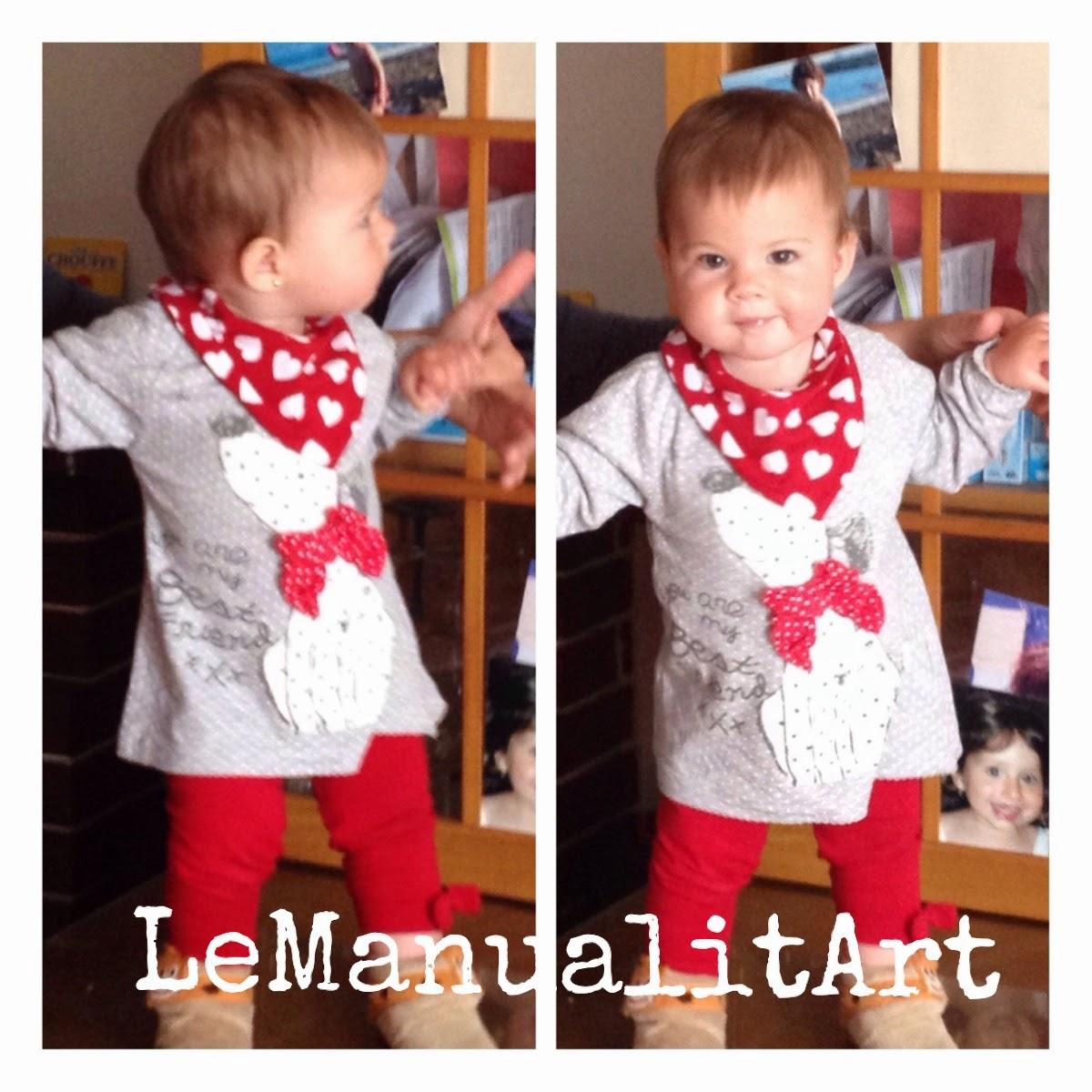 LeManualitArt costura creativa: babero babitas para bebé