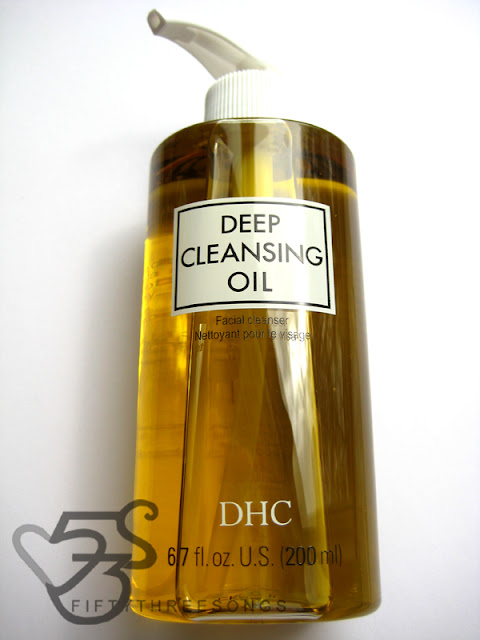 DHC Deep Cleansing Oil, Facial Cleanser