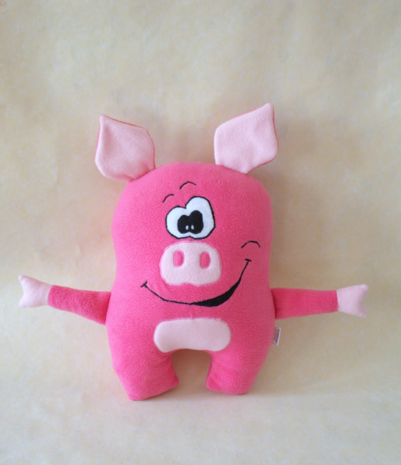 Игрушка свинка Пеппа своими 54