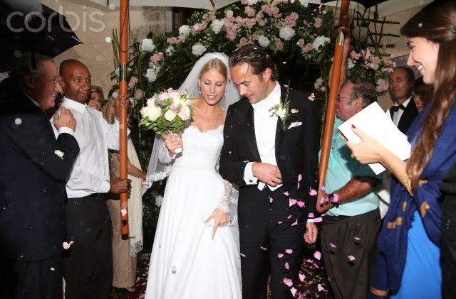 The Rain Might Have Been Lashing Down But Reclusive Heiress Athina Onassis Was Pretty In A Pink Silk Frock As She Attended Wedding Of Her Half Sister