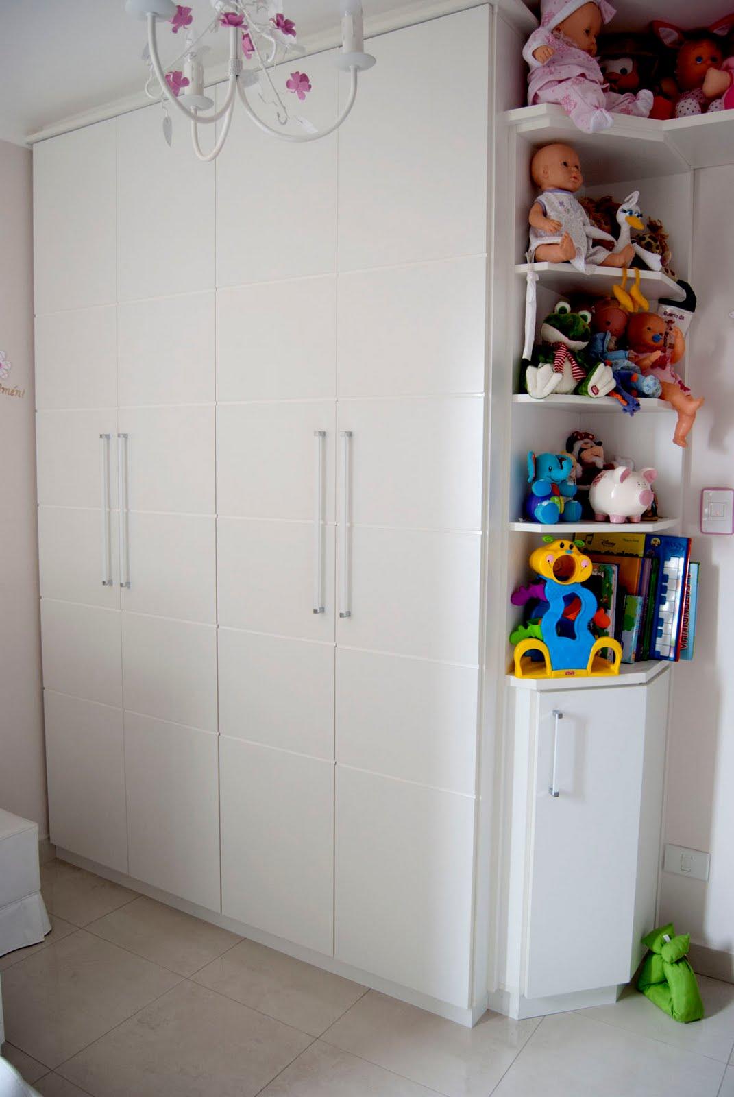 Armario Closet ~ Marcya Hitomi Tanaka ARMÁRIO BEBE ALEXANDRE E FABIANA