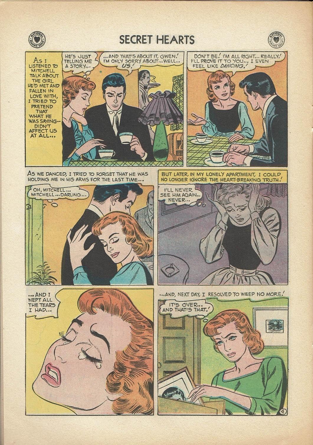 Read online Secret Hearts comic -  Issue #47 - 14