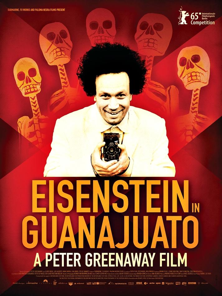 Póster: Eisenstein in Guanajuato