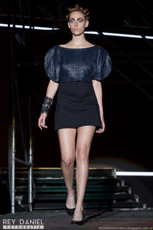 Vicki Otero con Martín Churba de Tramando Fashion Meets 2015 2016