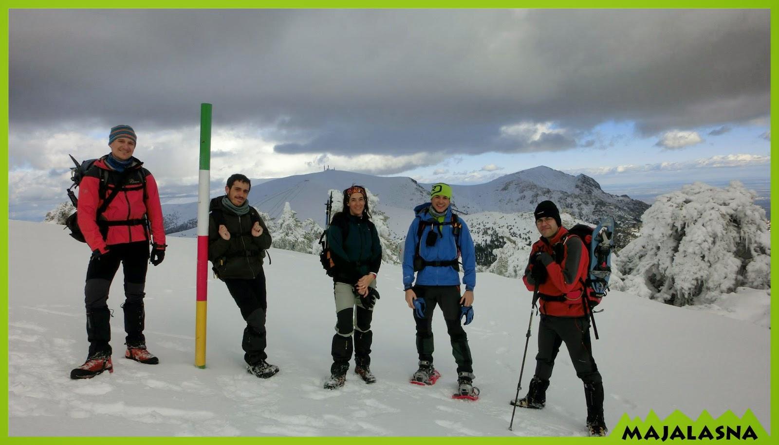 Aguerridos montañeros