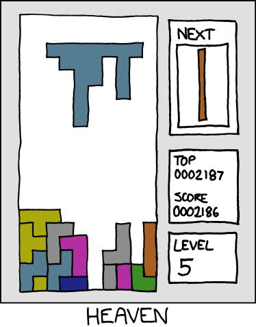 Very funny tetris - YouTube