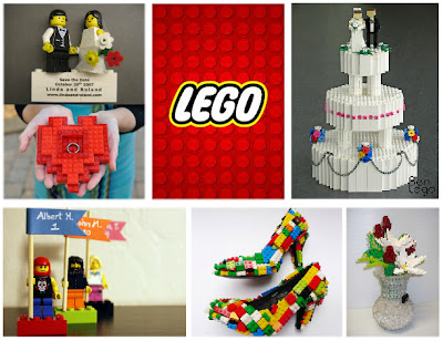 Lego wedding inspiration board