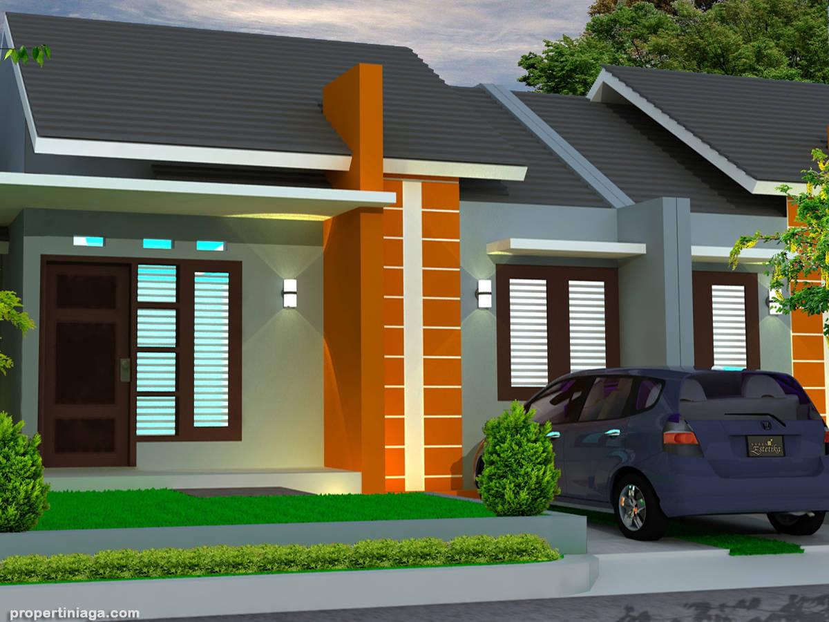 1001 contoh model rumah minimalis desain modern 50 for Design rumah mimimalis modern