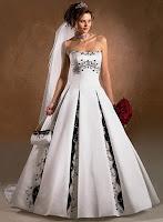 Elegant Casual Colorful Wedding Dresses
