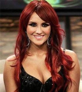 que te parecen estas hermosas fotos de cabellos de color rojo 2013