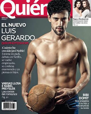 Luis Gerardo Méndez sin Camisa para Quien