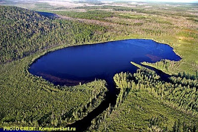 Lake Cheko in the Krashoyarsk Region