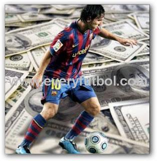 Lionel Messi Es El Jugador Mejor Pago Del Mundo