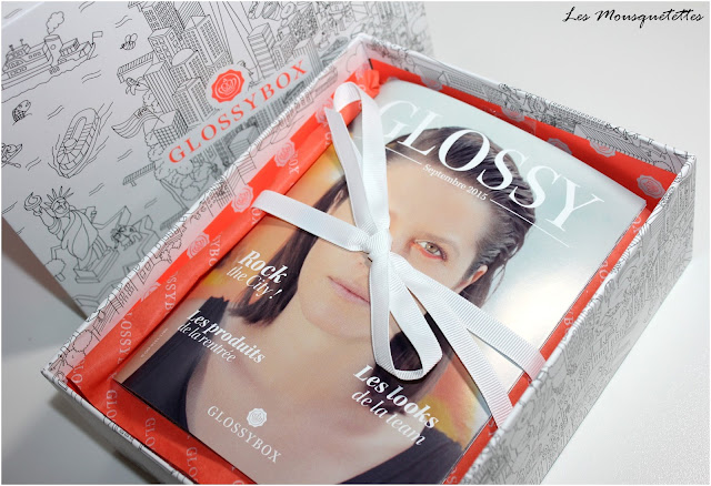 Glossybox Septembre 2015 Rock The City - Les Mousquetettes©