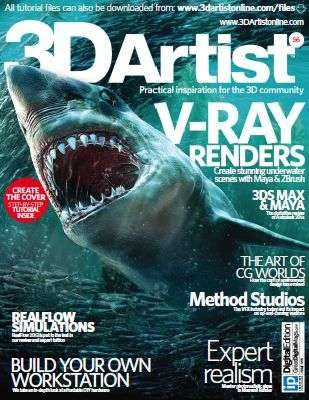 3D Artist Magazine Issue 56 June 2013