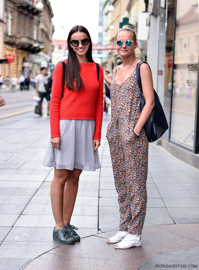 Street style Zagreb, Croatia by People & Styles, end of summer fashion