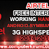 [Working] Airtel Free Internet Working Handler Config and Handlers August-September 2015 High Speed