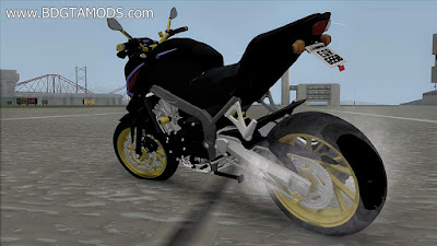 GTA SA - CB650F Black and Gold
