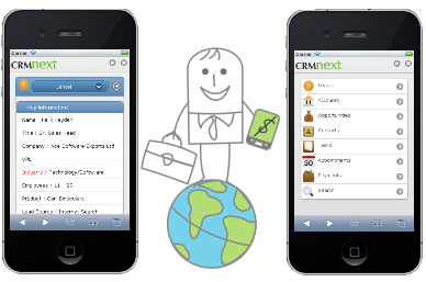 Mobile CRM as Answer to Field Sales Personnel Problems