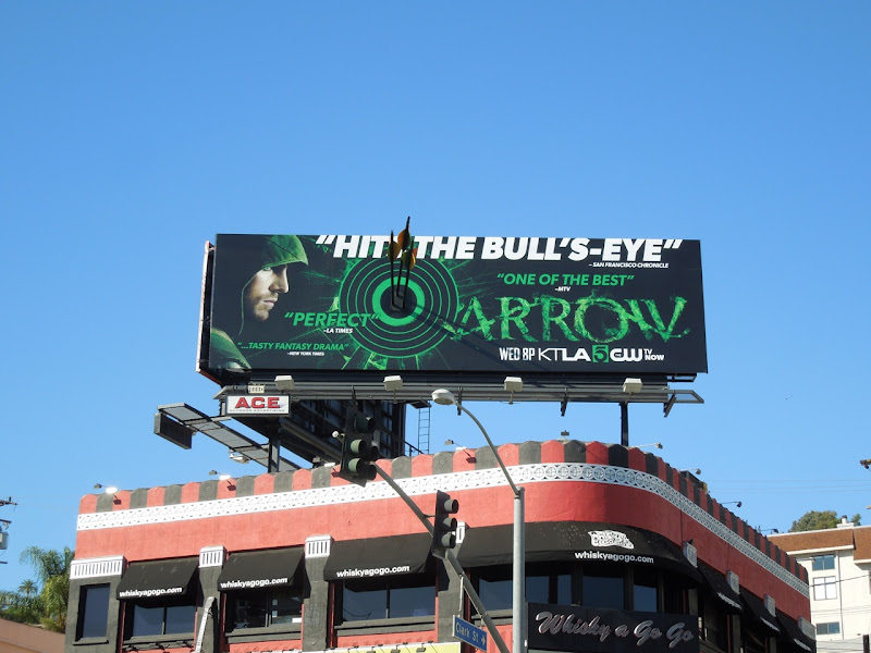 Arrow special installation bullseye billboard