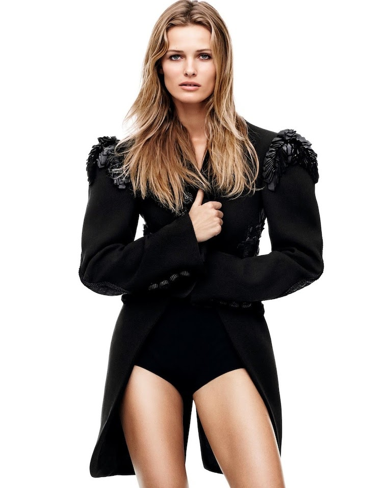 Edita Vilkeviciute By Daniel Jackson For Vogue China April 2014