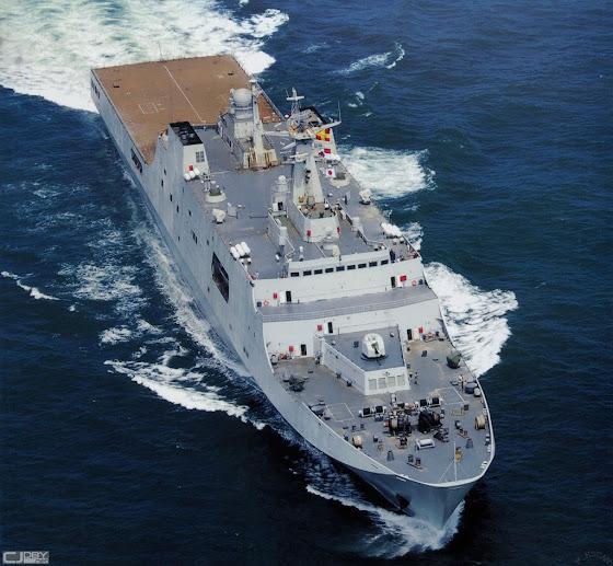 Type 071 landing platform dock (Yuzhao-class LPD)