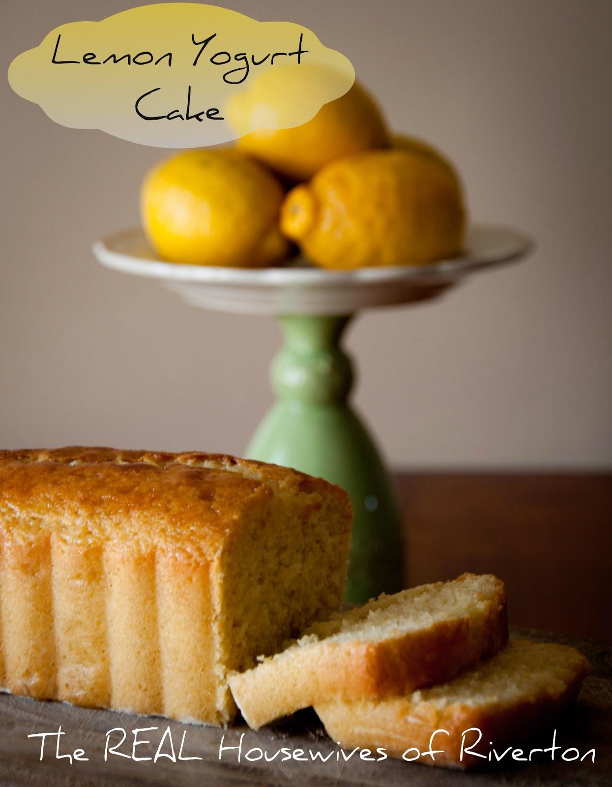 Lemon Yogurt Cake -