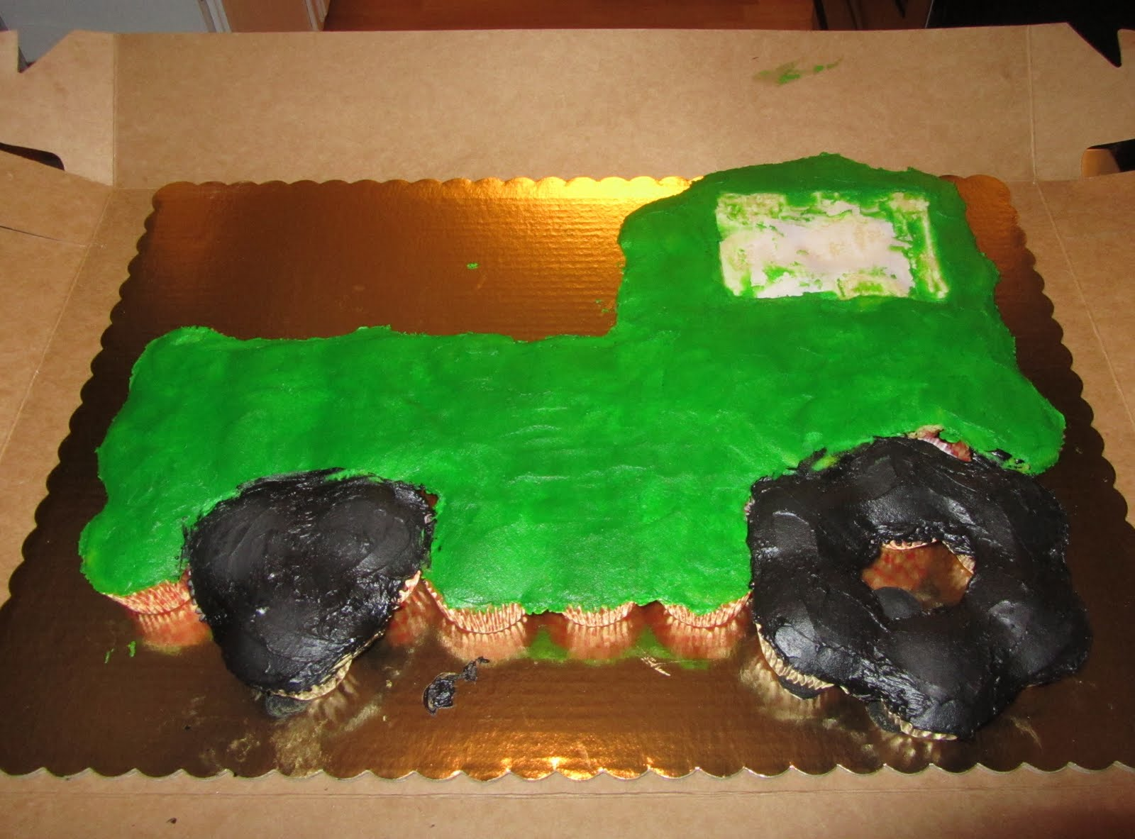 Mellys Mouthful Old McMellys Farm Tractor Cake