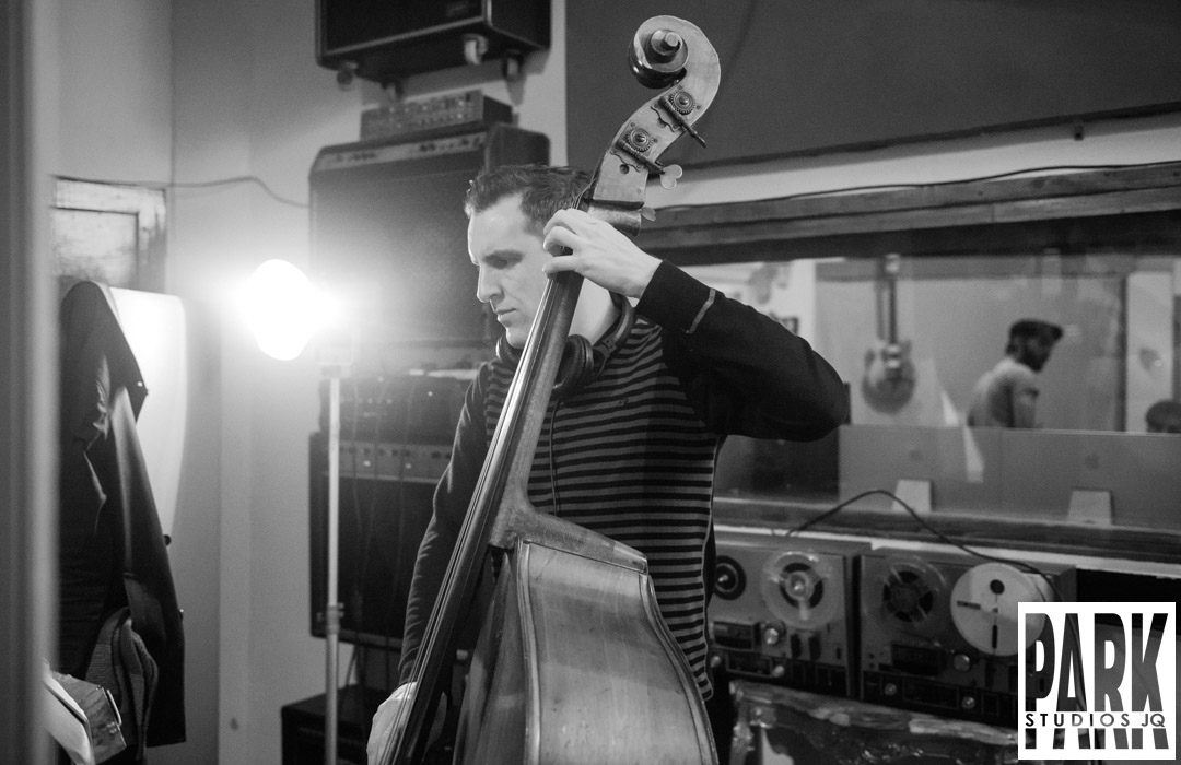 Birmingham recording studio Park Studios JQ | recording double bass