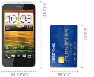 Dimensi HTC One SC