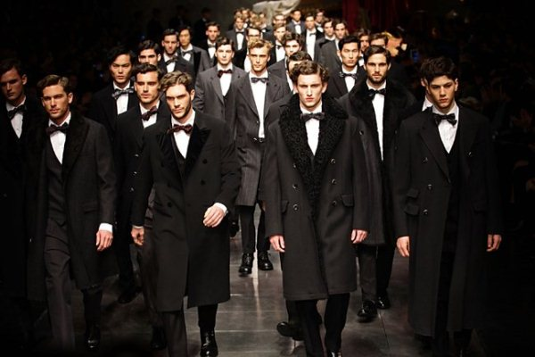 Dolce & Gabbana Fall-Winter 2012/2013, Men's Fashion Week in Milan